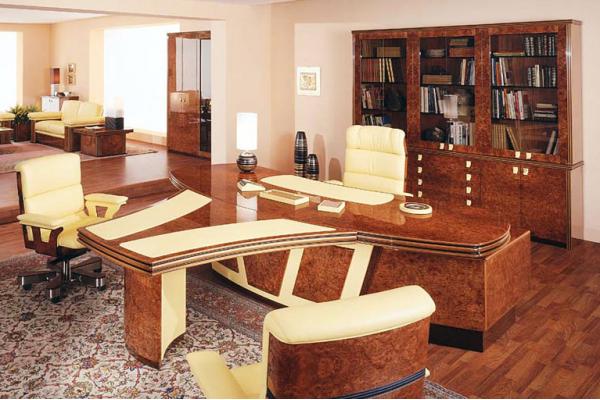 Мебель для кабинета в классическом стиле: современный баланс