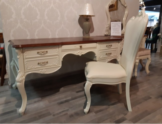 Стол письменный со стулом/ Gianni Taccini