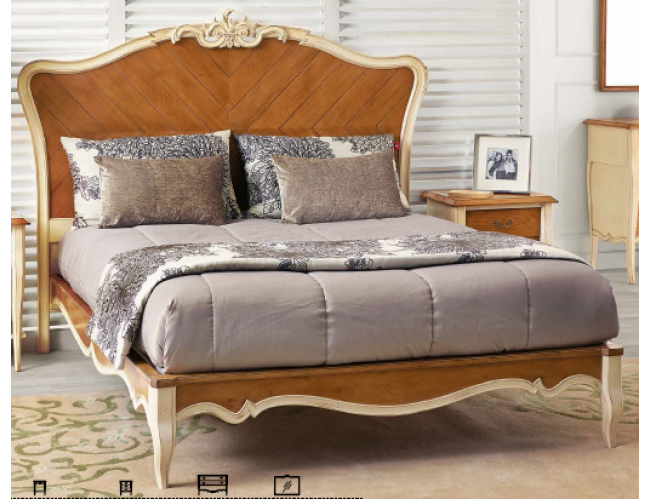 Кровать Baroque 20003 / AMCLASSIC