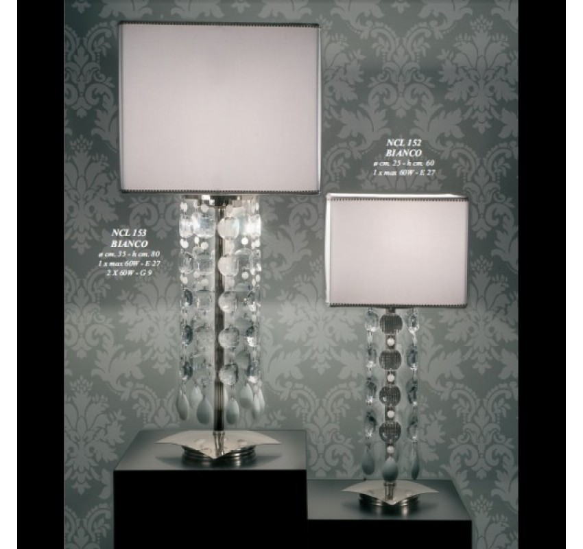 Настольная лампа Jago Patatina NCL 152/BIANCO