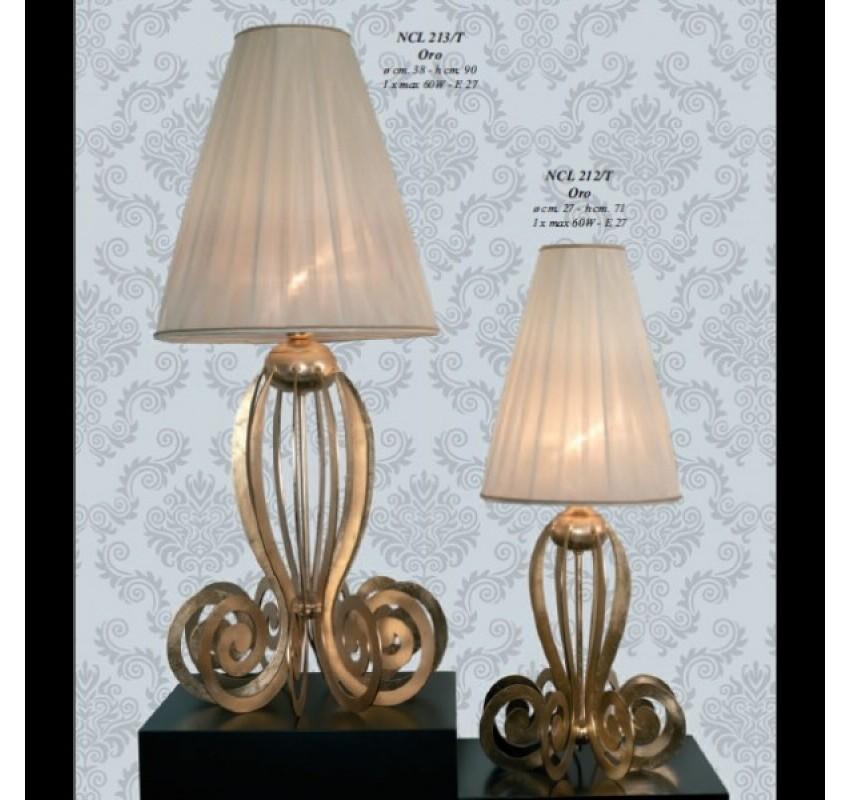 Настольная лампа Jago Medusa NCL 212/T Oro