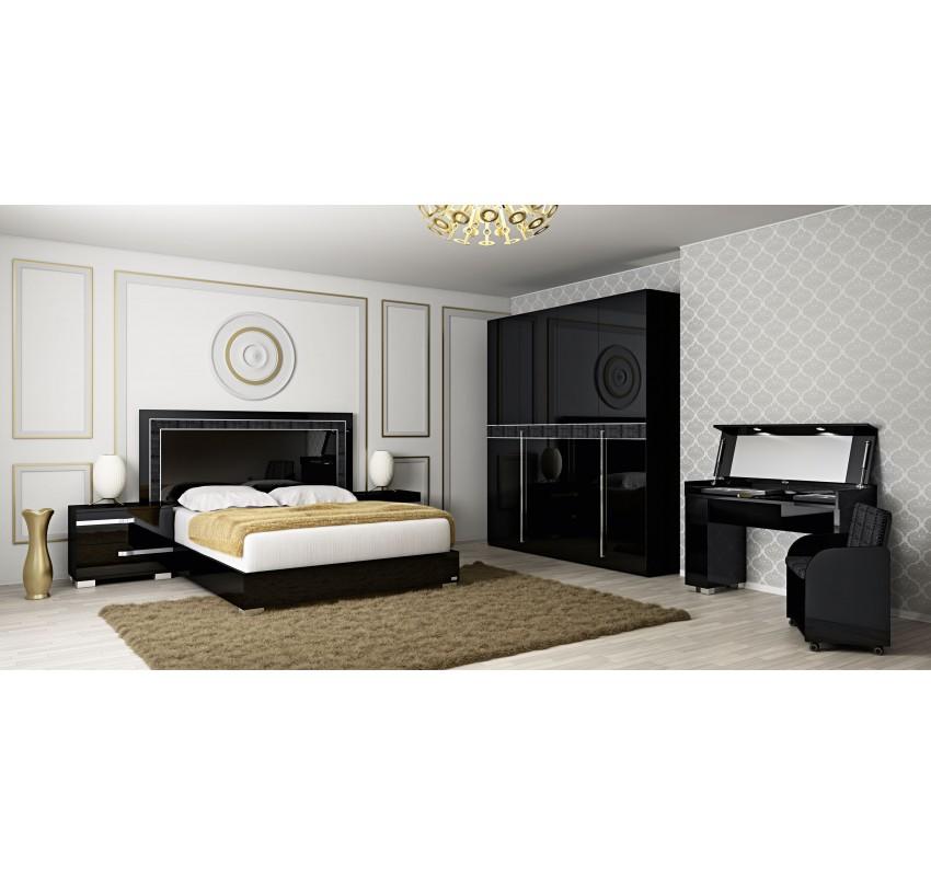 Спальня Volare Black 3/ Status