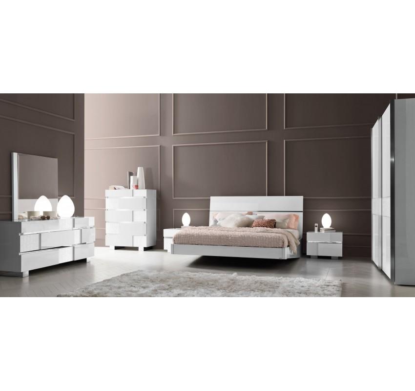 Спальня Caprice White 1/ Status