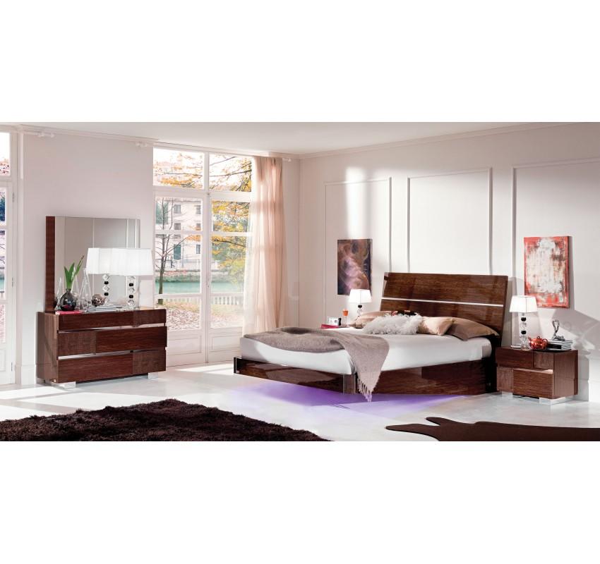 Спальня Caprice Walnut 1/ Status