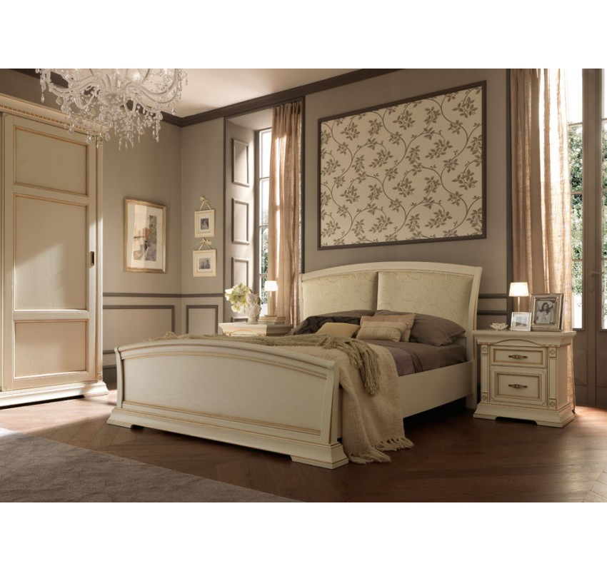 Кровать 71BO14LT Palazzo Ducale laccato/ Prama