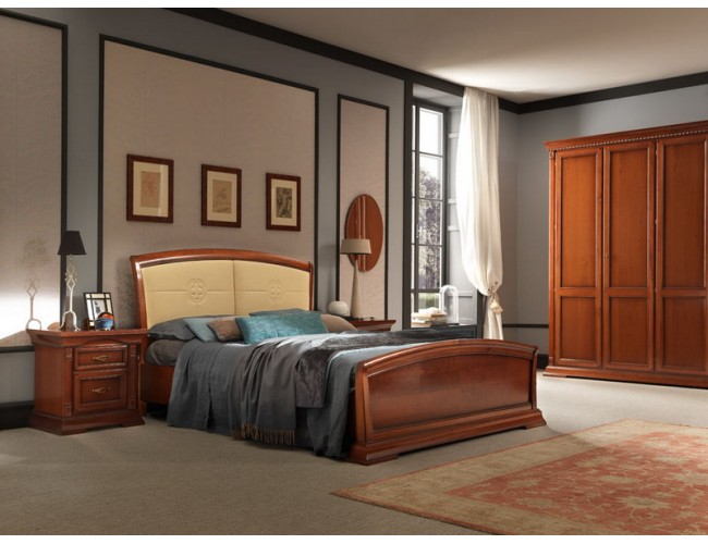 Кровать 71CI15LT Palazzo Ducale ciliegio/ Prama
