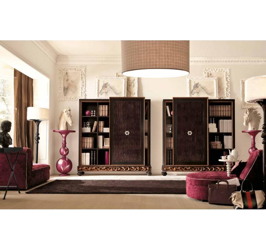 Книжный шкаф Glamour collection 800/70/IMB/C / Alta Moda