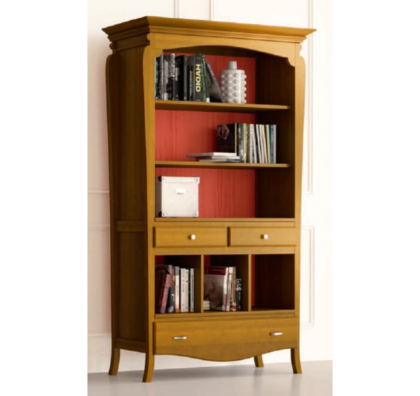 Книжный шкаф Mediterraneo 3503 / Grupo Seys