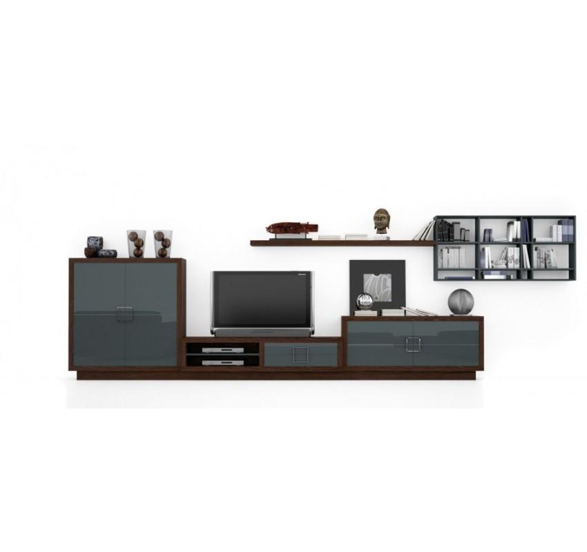 Модульная стенка Bauhaus Z132 / La Ebanisteria