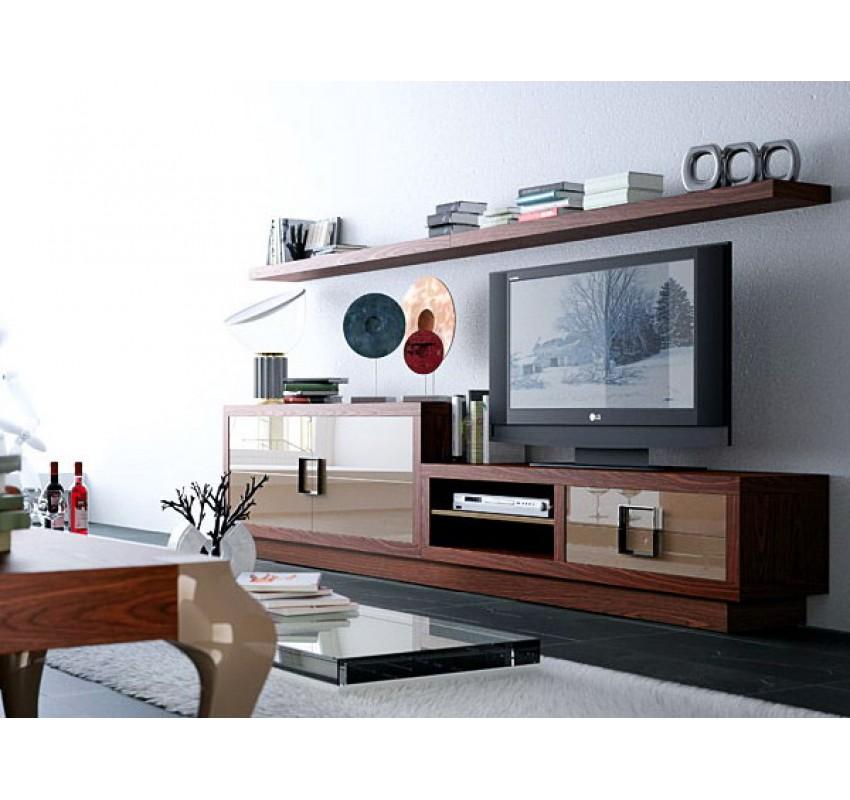 Модульная стенка Bauhaus Z103 / La Ebanisteria