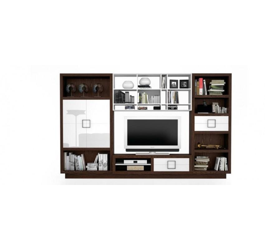 Модульная стенка Bauhaus Z117 / La Ebanisteria