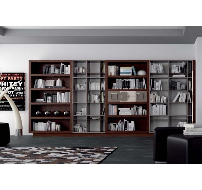 Библиотека Bauhaus Z140 / La Ebanisteria