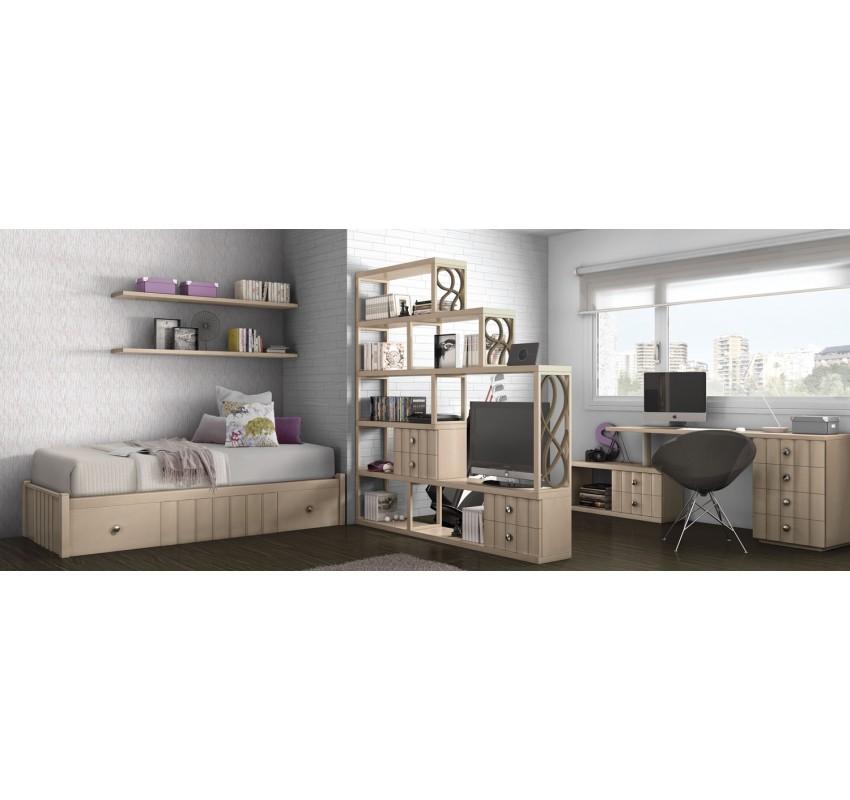 Спальня Teen Space 10 / Lineas Taller