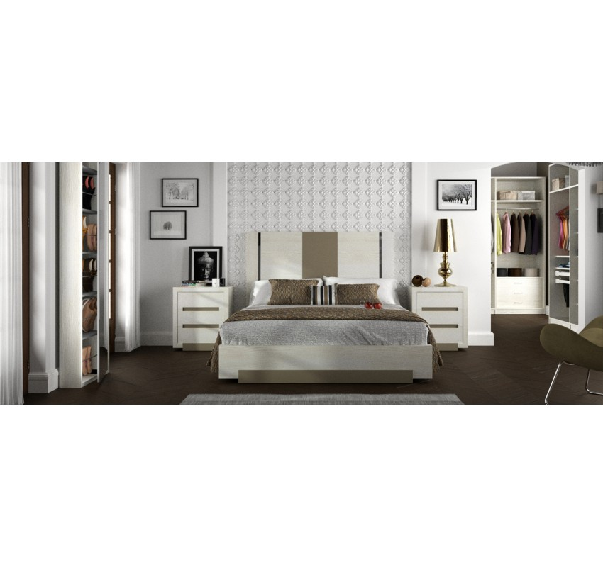 Спальня Unero Syros / Lineas Taller композиция 1