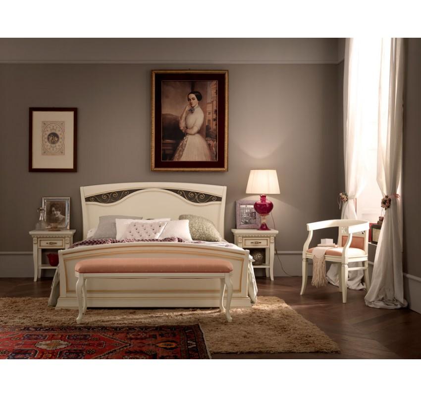 Кровать 71BO54LT Palazzo Ducale laccato/ Prama