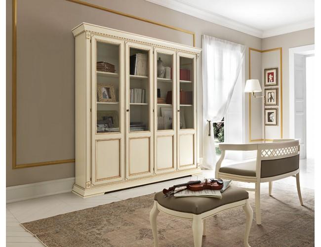 Библиотека 71BO03LB Palazzo Ducale Laccato/ Prama