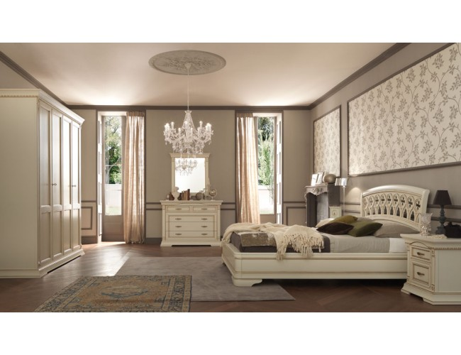 Кровать 71BO03LT Palazzo Ducale laccato/ Prama