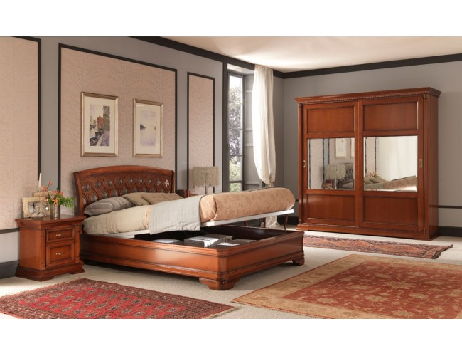 Кровать 71CI05LT Palazzo Ducale ciliegio/ Prama