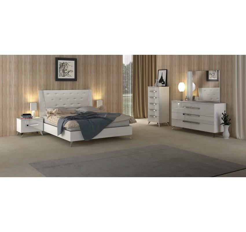 Спальня AURA White/ Status