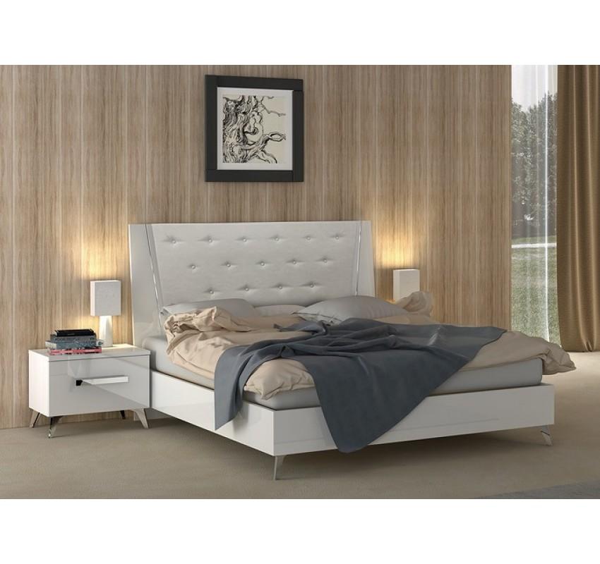Кровать AURA White/ Status