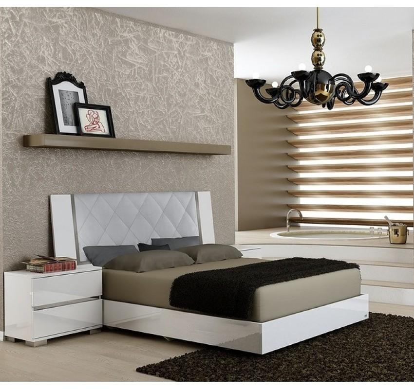 Кровать Dream White Rhombus/ Status