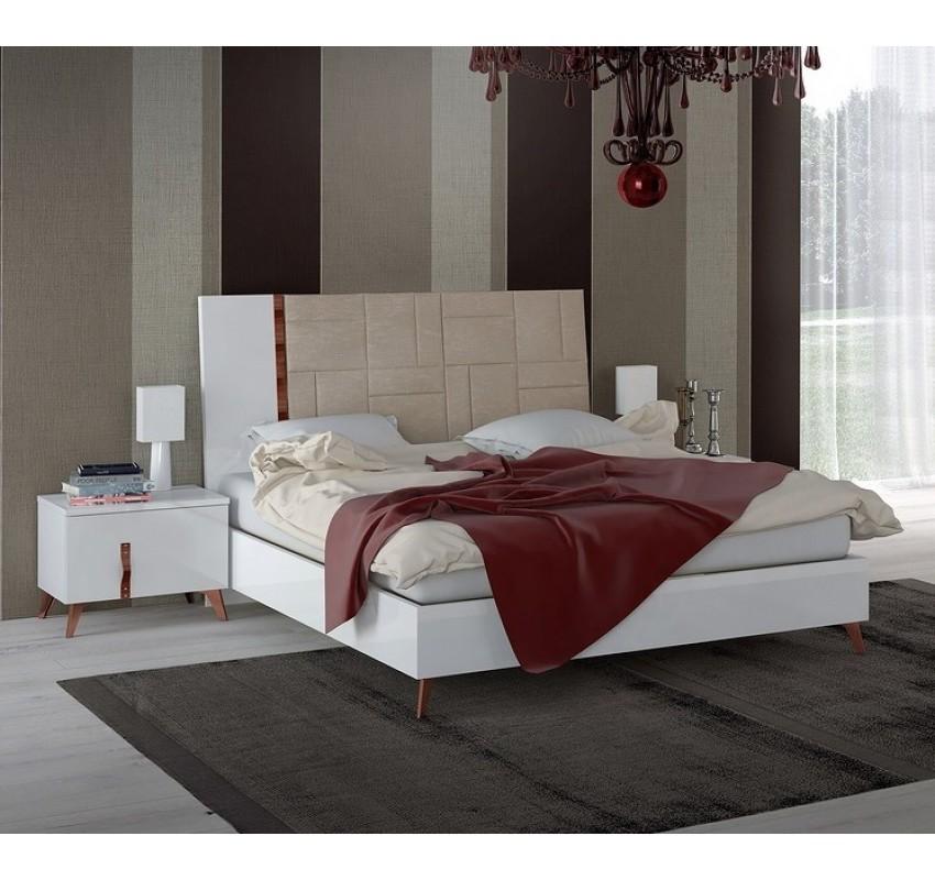 Кровать SIRIO White/ Status