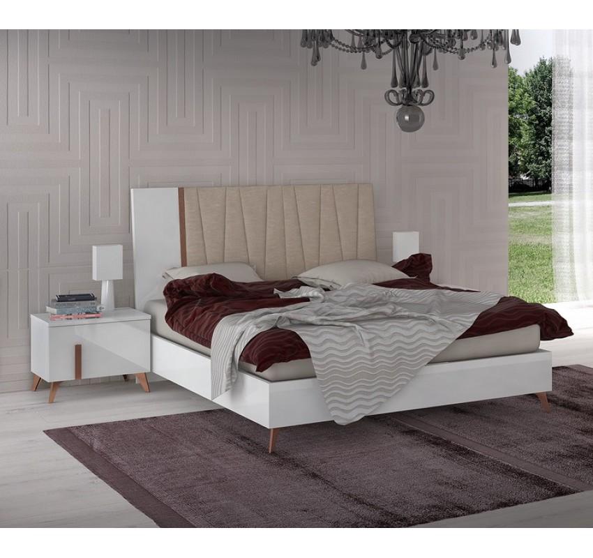 Кровать VEGA White/ Status