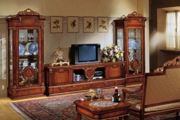 Лучшие идеи модульной мебели для гостиной в классическом стиле
