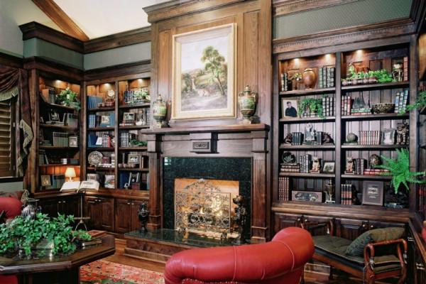 Лучшая мебель для библиотеки в классическом стиле: ТОП-5