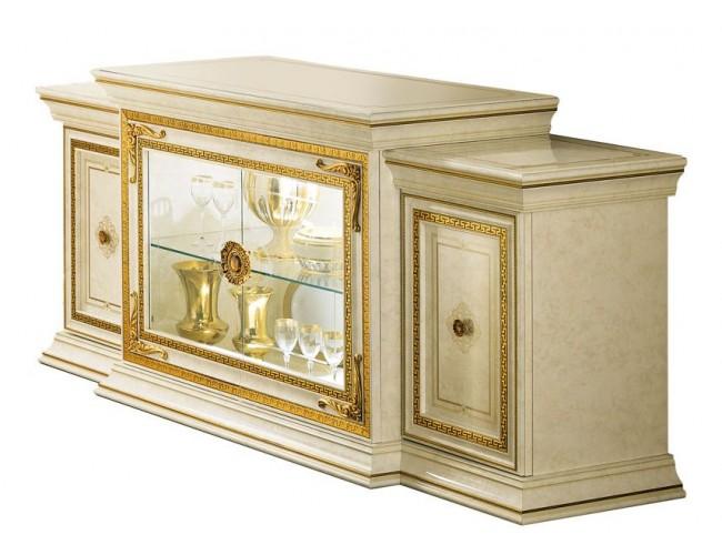 Буфет Leonardo 4 двери/2-стекло/ Arredo Classic