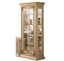 Витрина Leonardo 1 дверь/ Arredo Classic