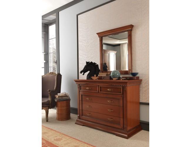 Зеркало 71CI03SA Palazzo Ducale ciliegio/ Prama