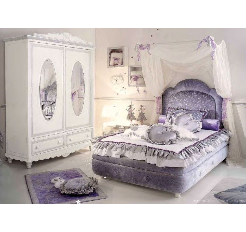 Детская Maison Jolie Silver / Ebanisteria Bacci композиция 005