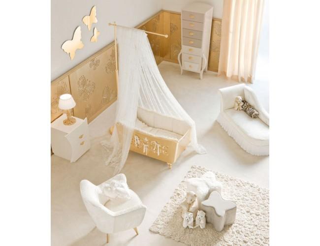 Комната для новорожденного Luxury Bebè / Halley композиция 3 LB