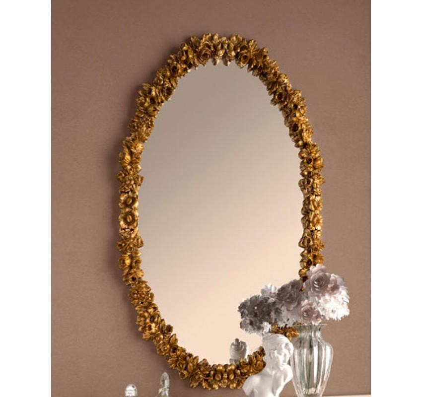 Зеркало овальное резное 801/Casa+39