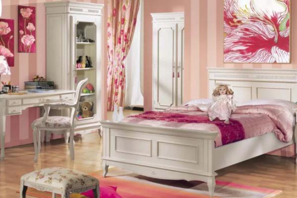 Итальянская детская мебель для девочек: когда мечты юных принцесс сбываются
