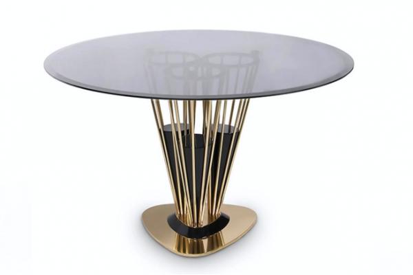 Дизайн обеденного стола: главные тренды 2019