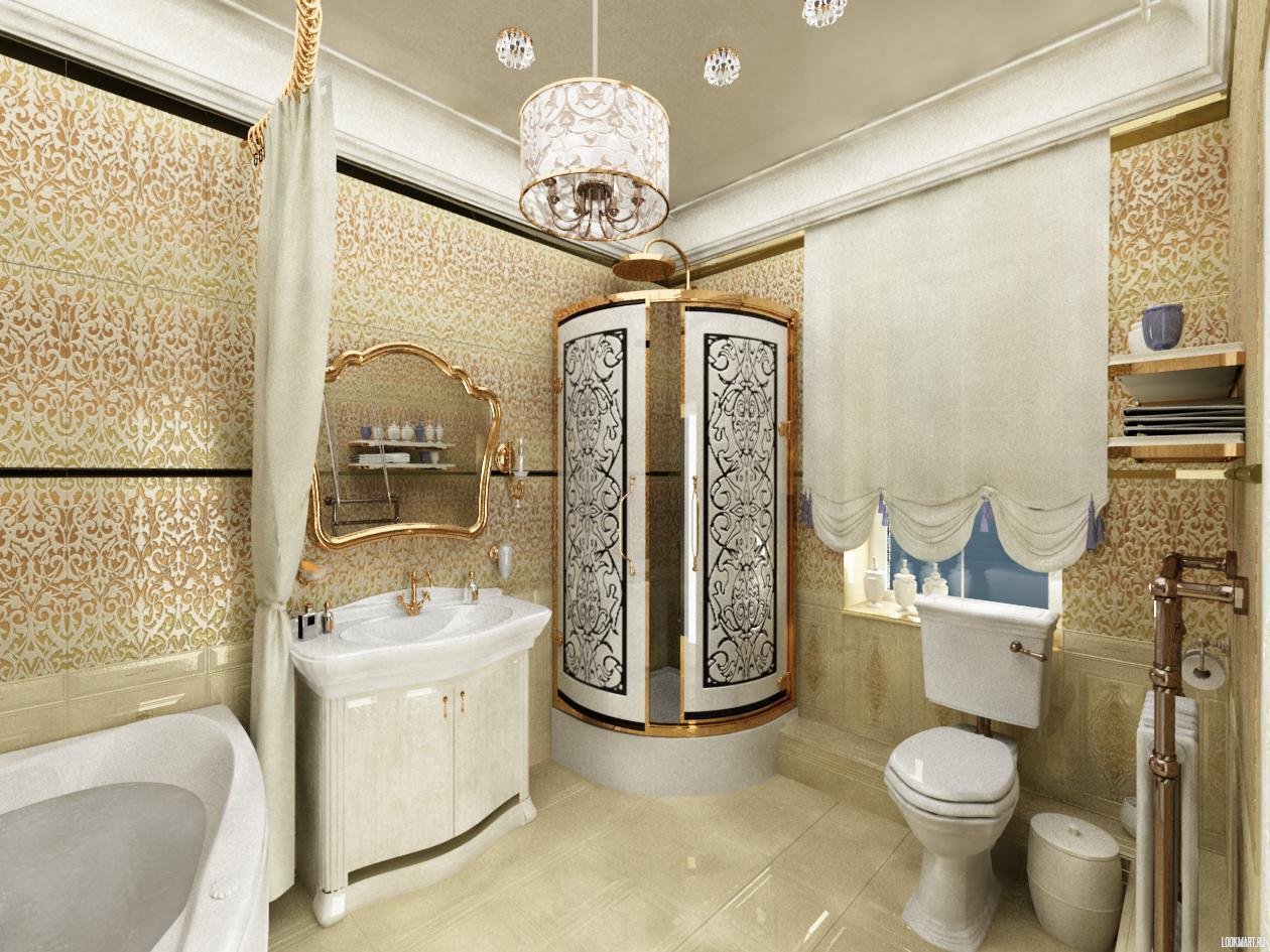 Мебель для ванной комнаты из Италии в стиле Классика